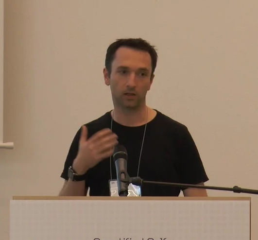 Talk I gave at  Quantified Self Europe Conference 2015