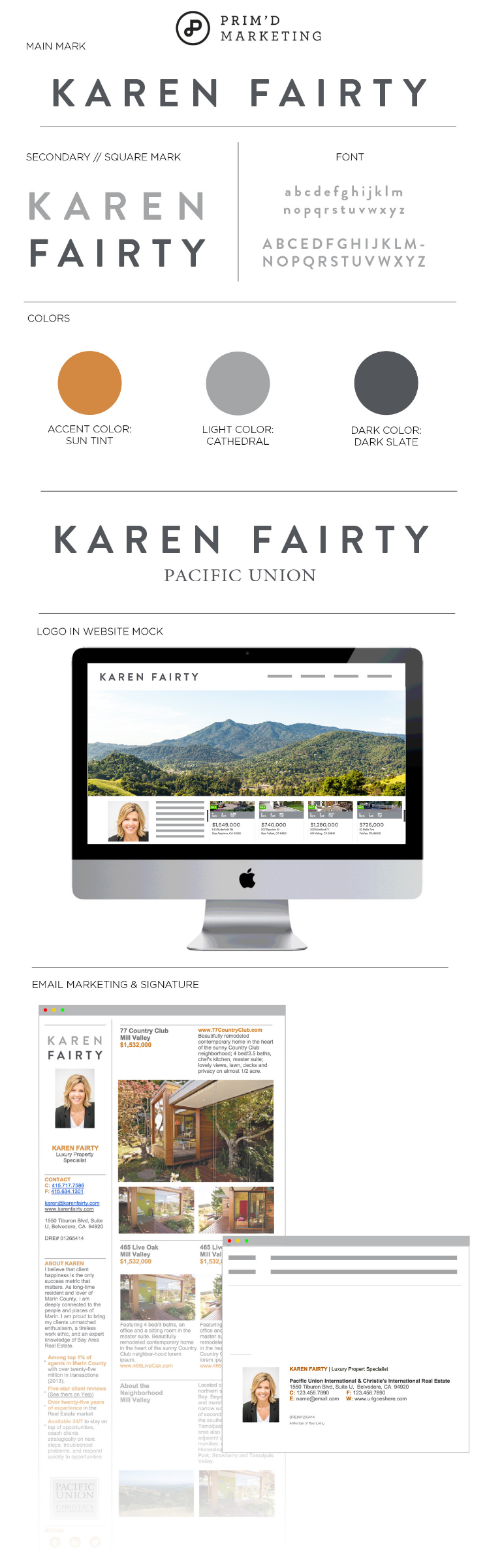 Primd Marketing - Case Study - Karen Fairty Branding