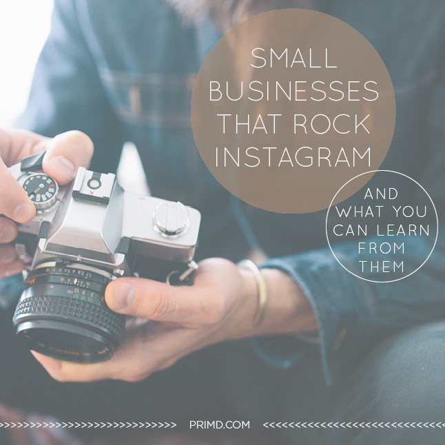 Primd Marketing - Small Businesses the Rock Instagram