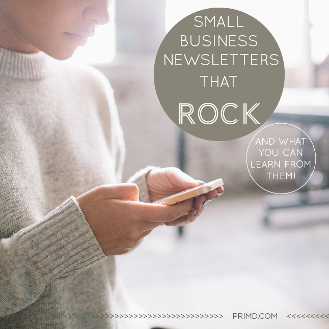 Small Business Newsletters That Rock