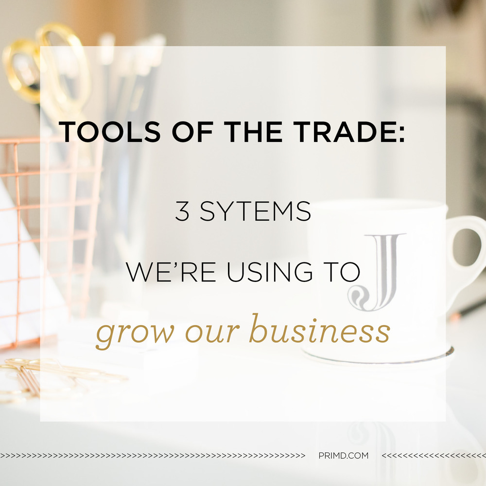 Primd Marketing - Three Systems We're Using to Grow Our Business
