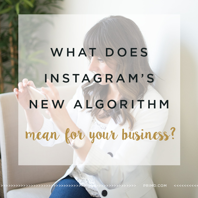 What Instagram's New Algorithm Means For Your Business