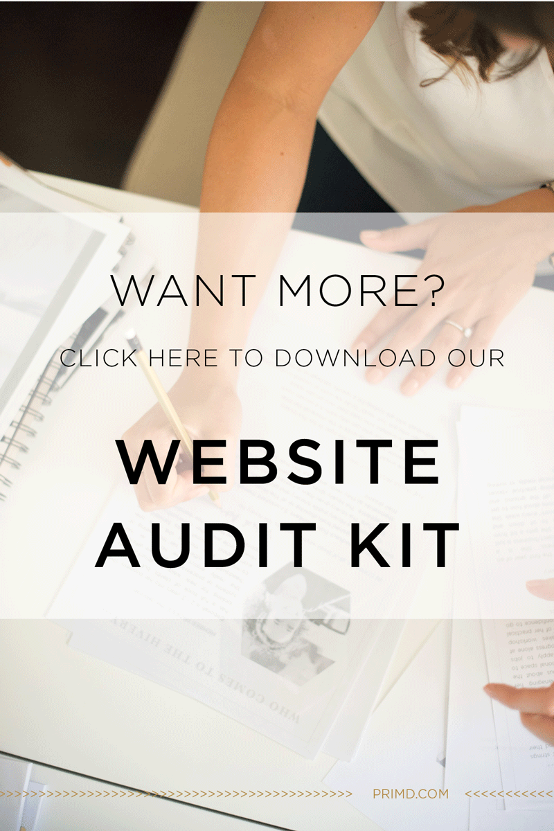 Primd Marketing - Website Audit Kit