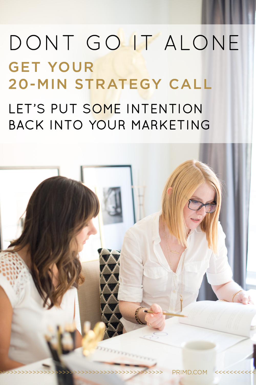 Primd Marketing - 20 Minute Strategy Call