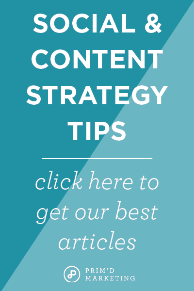 Social + Content Strategy Tips