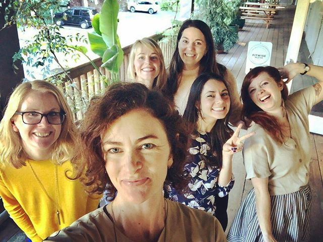 So fun to have a reunion with the bosses we went to #beingbossnola (@beingbossclub Vacay in New Orleans) with back in October! . . We're keep in touch through Marco Polo but there's nothing like catching up face to face. . . We're so thankful to have @beccapiastrelli @kimpej @beccapiastrelli @eileenmroche in our lives! . . #beingbosspodcast #beingbossclub #beingbossnola #beingboss  #thehivery #womeninbusiness #entrepreneur #womenentrepreneurs #entrepreneurship #girltalk #girlsquad