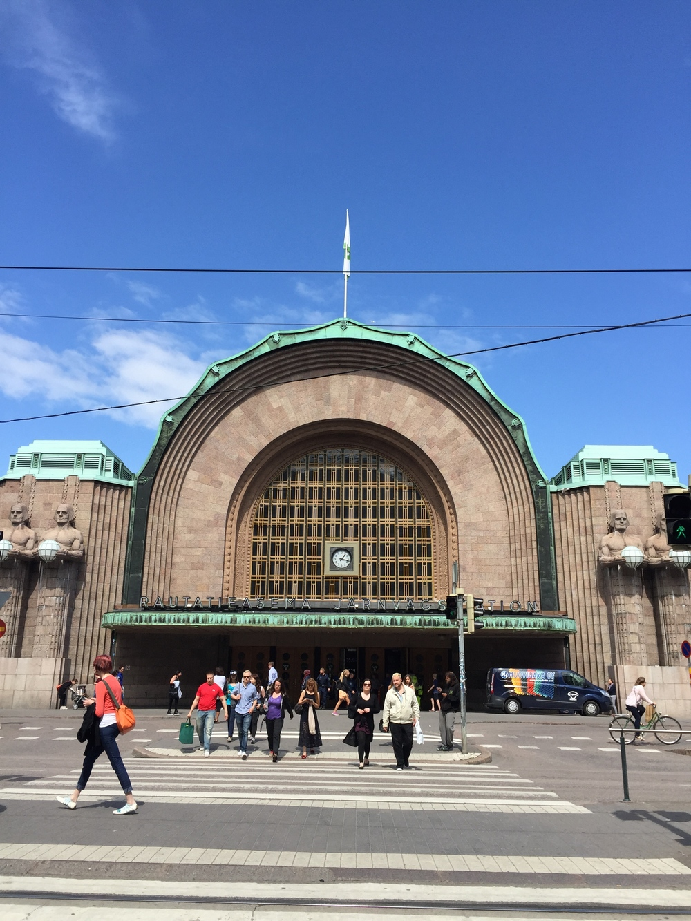 Helsinki Central Railway Station, designed by Eliel Saarinen (1919) / 9 July 2015