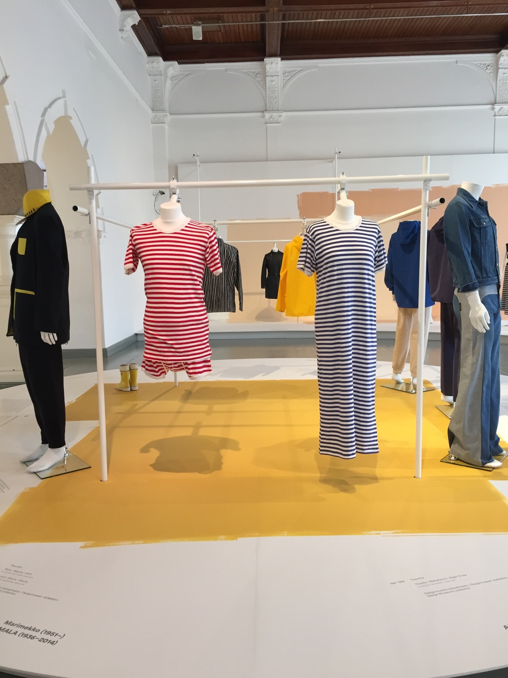 Classic Marimekko stripes on display! @ Design Museo / 10 July 2015
