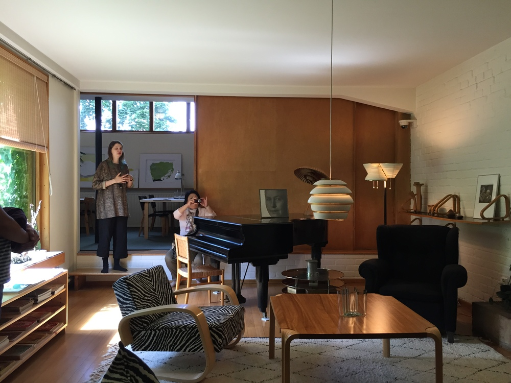Main living room / Aalto House / 11 July 2015