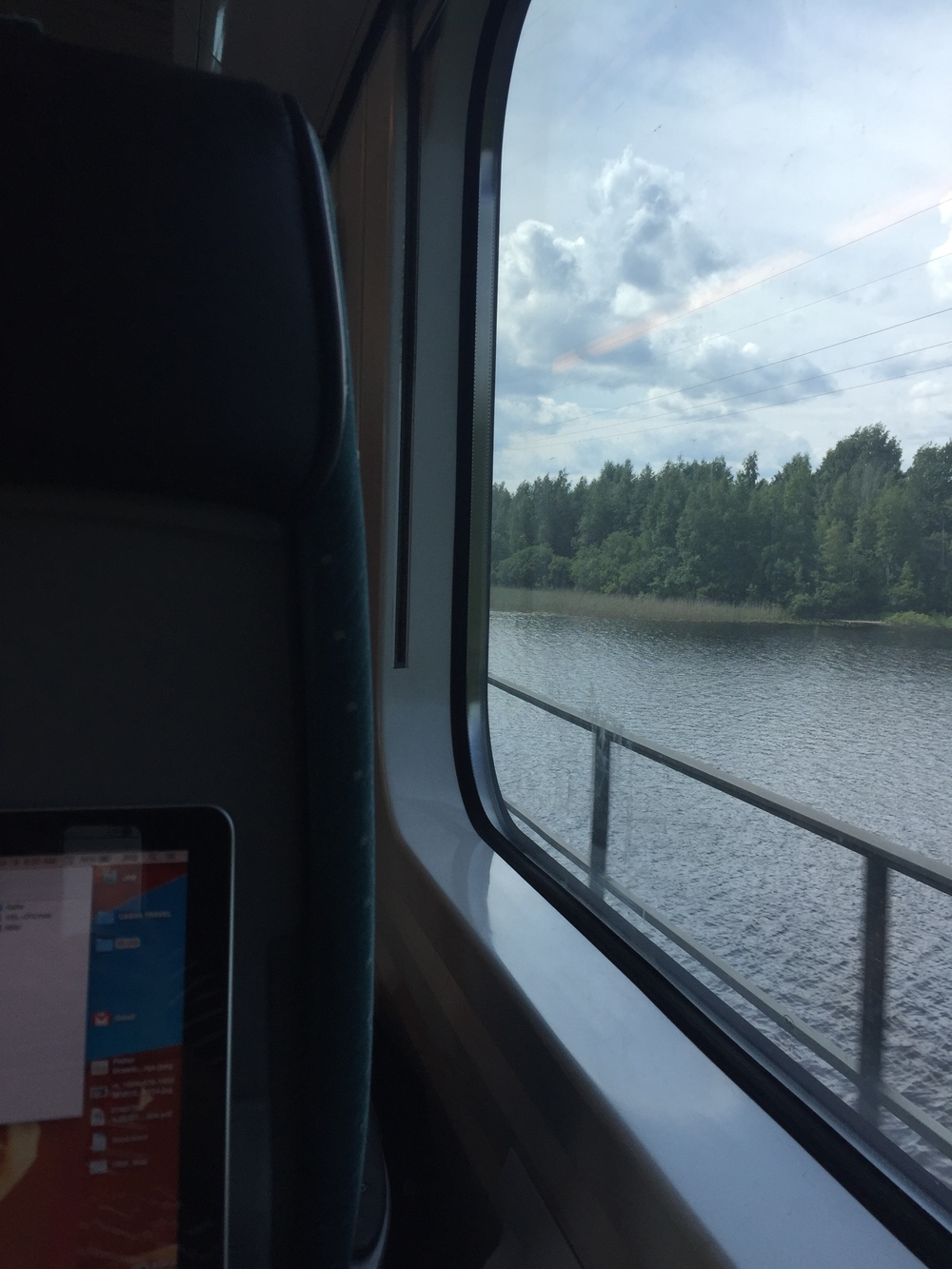 Train to Turku / 18 July 2015