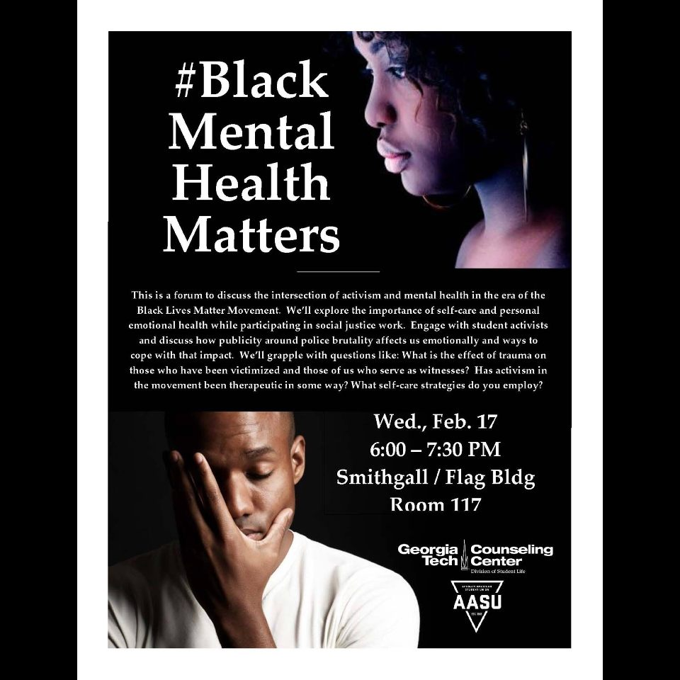 Black Mental Health Matters - Feb 17, 2016