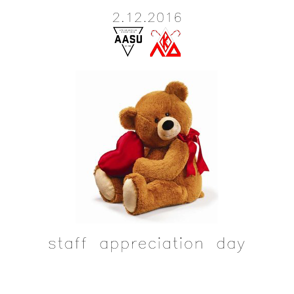 Staff Appreciation Day - Feb 12, 2016