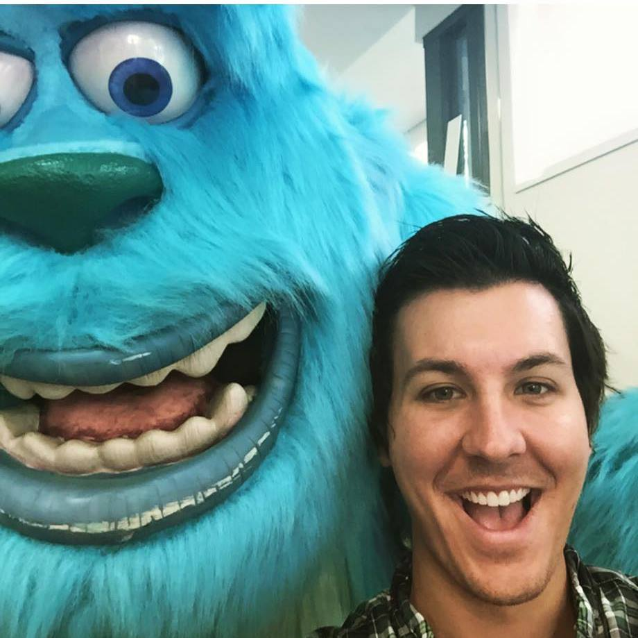 Don't mind me I'm just hanging out with Sully.