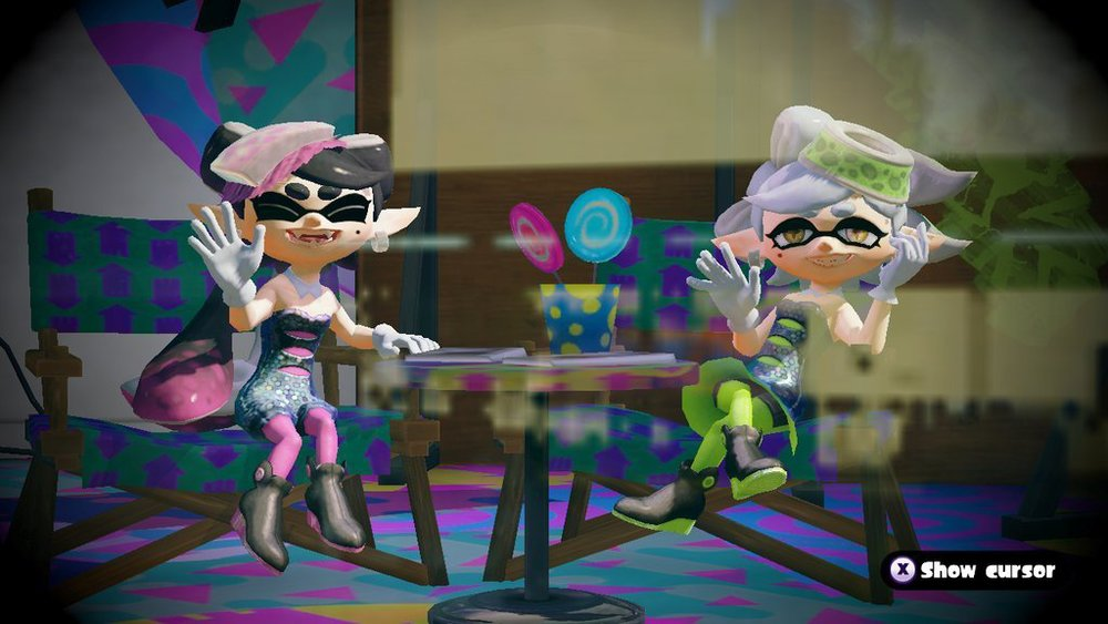 "The Squid Sisters close out every announcement with ""Stay fresh!"""