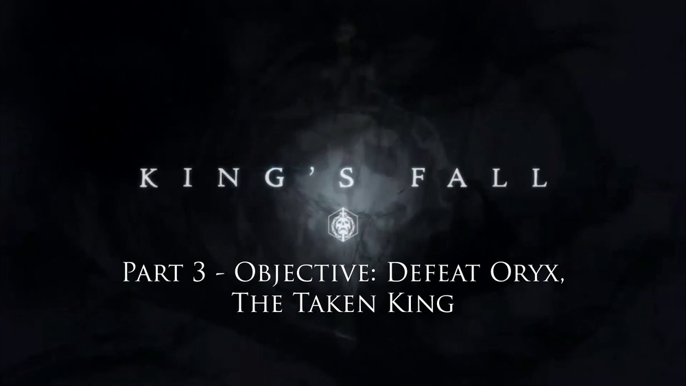 In-depth look at - Objective: Defeat Oryx, The Taken King