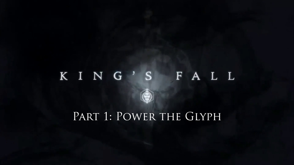 An In-depth look at King's Fall - Objective: Power the Glyph