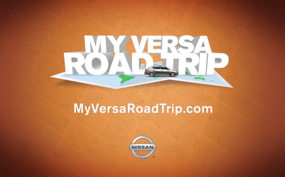 Nissan Versa Road Trip