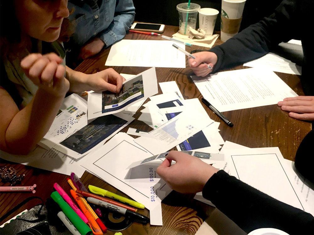 USING HUMAN-CENTERED DESIGN TO  DISRUPT  THE FINANCE INDUSTRY