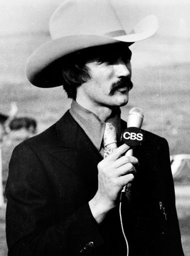 Bob Tallman from the early 80's (we think!) at The Reno Rodeo