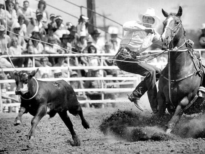 Vintage Reno Rodeo with Roy Cooper 1978