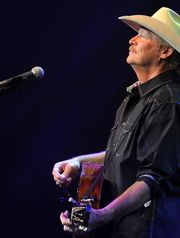 "Alan Jackson released a new album, ""Angels and Alcohol,"" on Friday. (Photo: George Walker IV/ The Tennessean)"