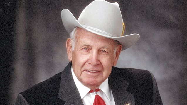 Utah Cowboy and Western Heritage Museum Cowboy Hall of Fame 2015 inductee Bu Favero. Favero is one of four local cowboys being posthumously honored during the 2015 Ogden Pioneer Days celebration.