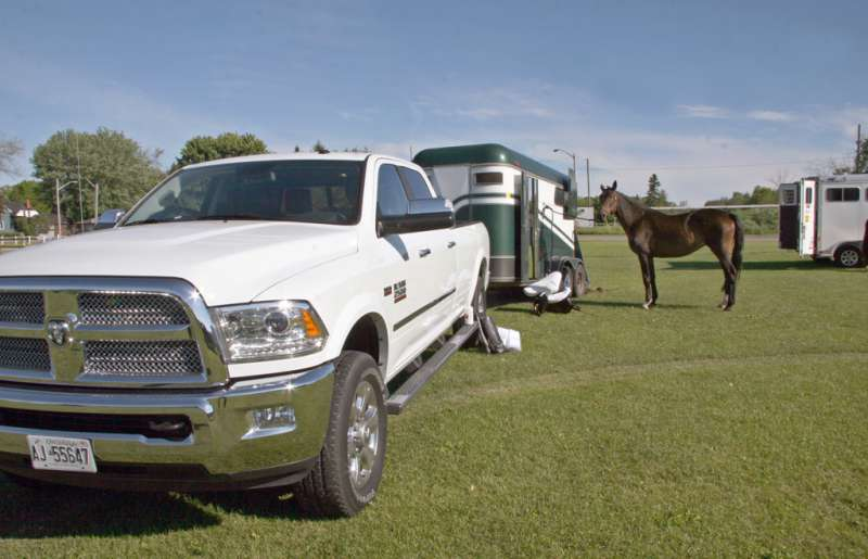 With a tow rating of 5,643 kilograms, the Hemi-powered Ram 2500 makes quick work of trailers. Lesley Wimbush, Driving