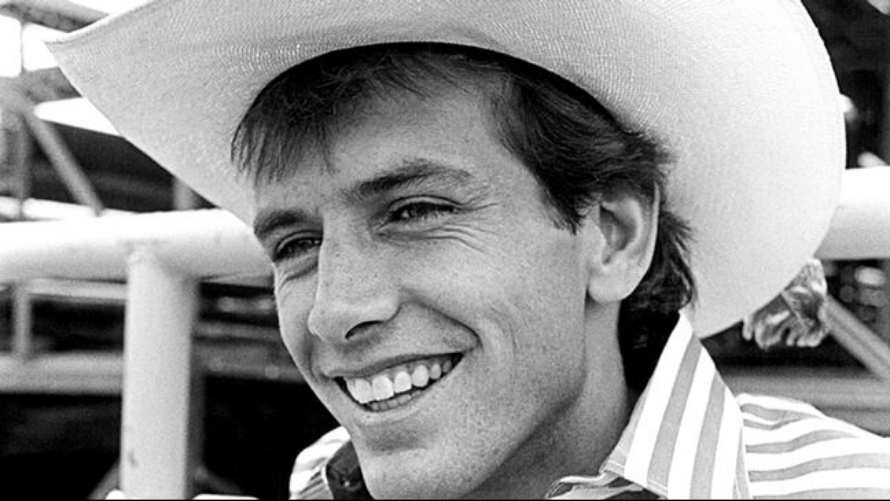 World Champion bull rider Lane Frost passed away in July of 1989. Photo by Sue Rosoff's Rodeo Photographs