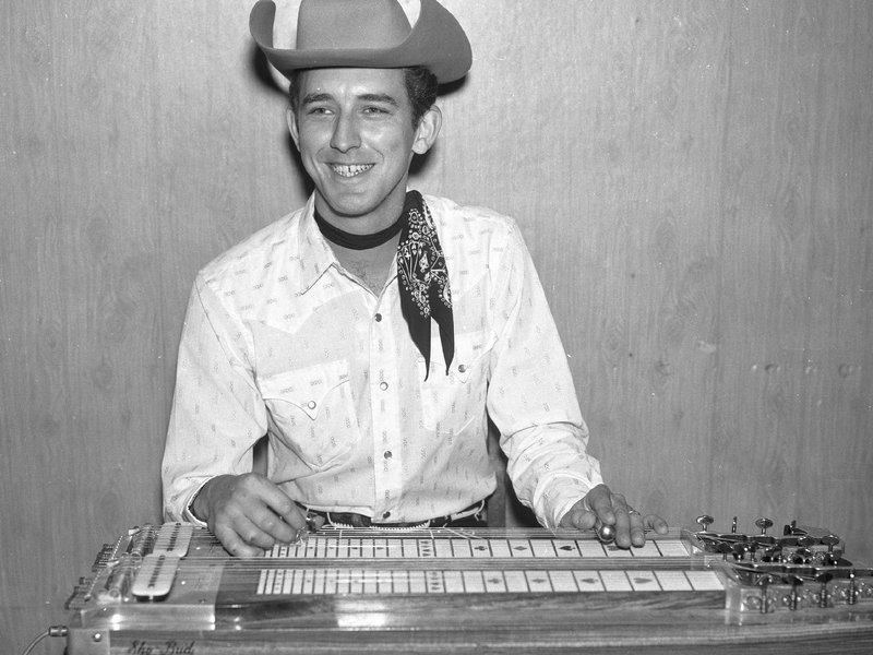 Buddy Emmons as a member of Ernest Tubb's Texas Troubadours, circa 1962. Elmer Williams/Country Music Hall of Fame and Museum/Getty Images