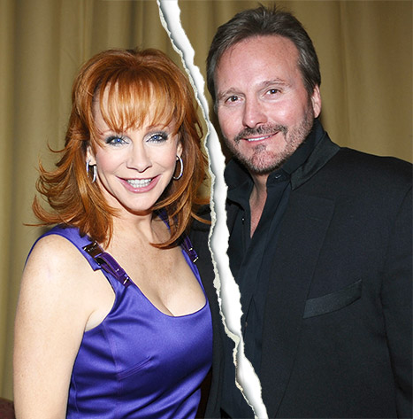 Reba McEntire and her husband Narvel Blackstock are splitting after 26 years of marriage. Credit: Stefanie Keenan/Getty Images