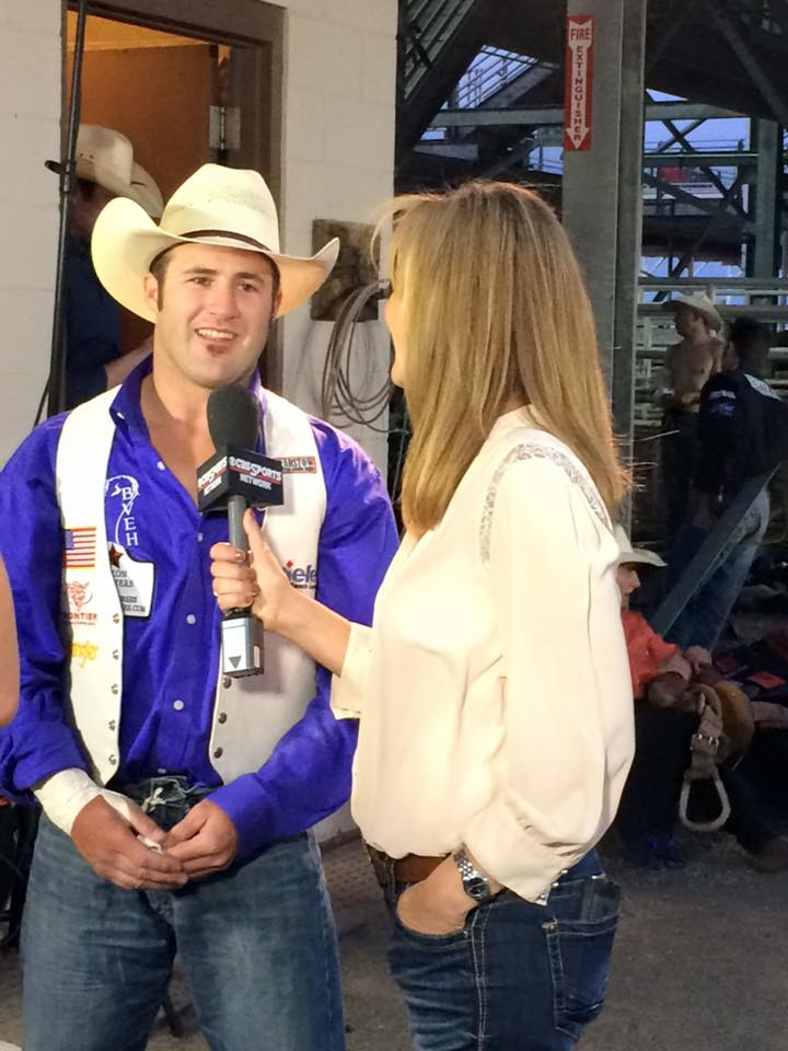 Four time world champion bareback rider, Kaycee Feildis your champion for the Wrangler Western team at the Champions Challenge tonight in Cody, WY.