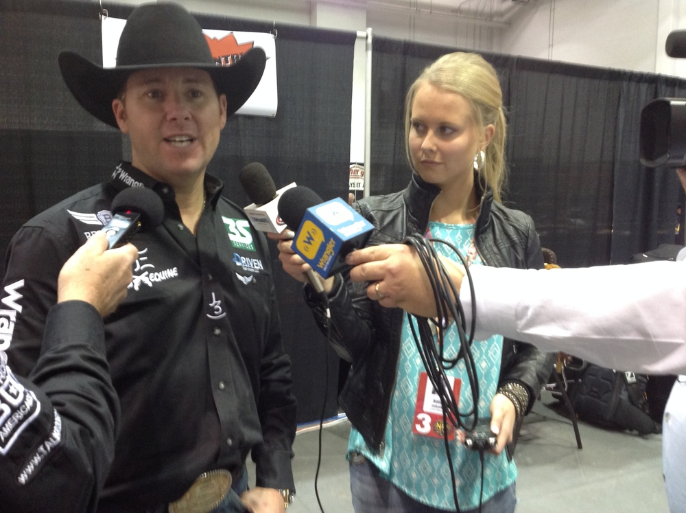 """""""It is important for fans, sponsors and future generations of cowboys to bring rodeo to a platform that showcases the elite athlete's talents on a national stage,"""" said twenty-one time World Champion and ERA Athlete, Trevor Brazile."""