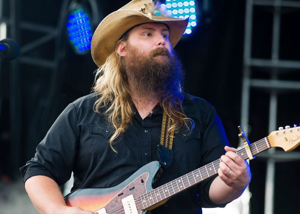 """""""Music is not a game to me. I take it very seriously,"""" says Chris Stapleton, who received three CMA Awards nominations today.Timothy Hiatt/WireImage"""