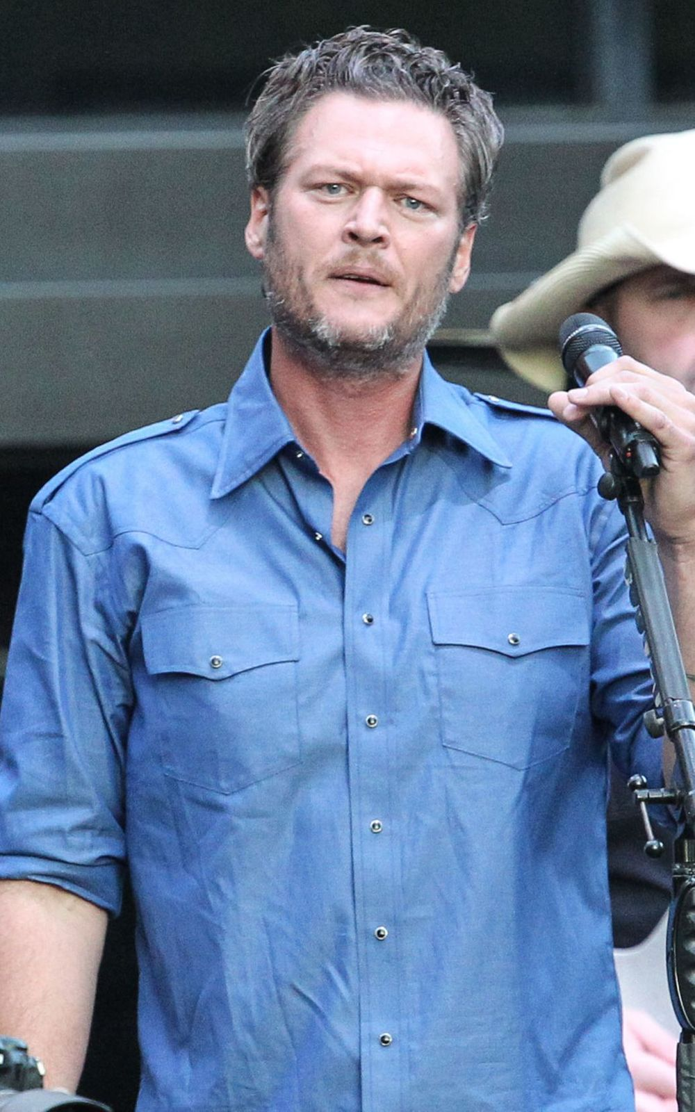 Blake Shelton has filed a defamation lawsuit against a tabloid for publishing a story that says he's going to rehab.Terry Wyatt/WireImage