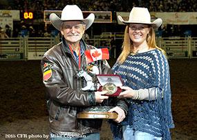 Rodeo Announcer Dave Poulsen - 2015 Douglas Lake Ranch Cowboy of the Year