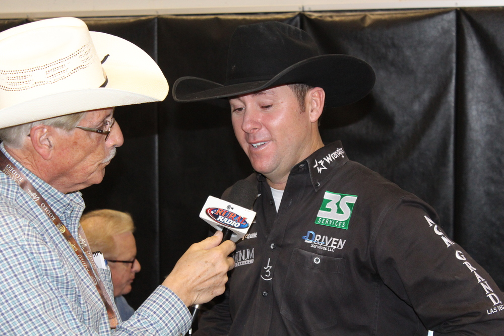 Arnie talks with Trevor Brazile