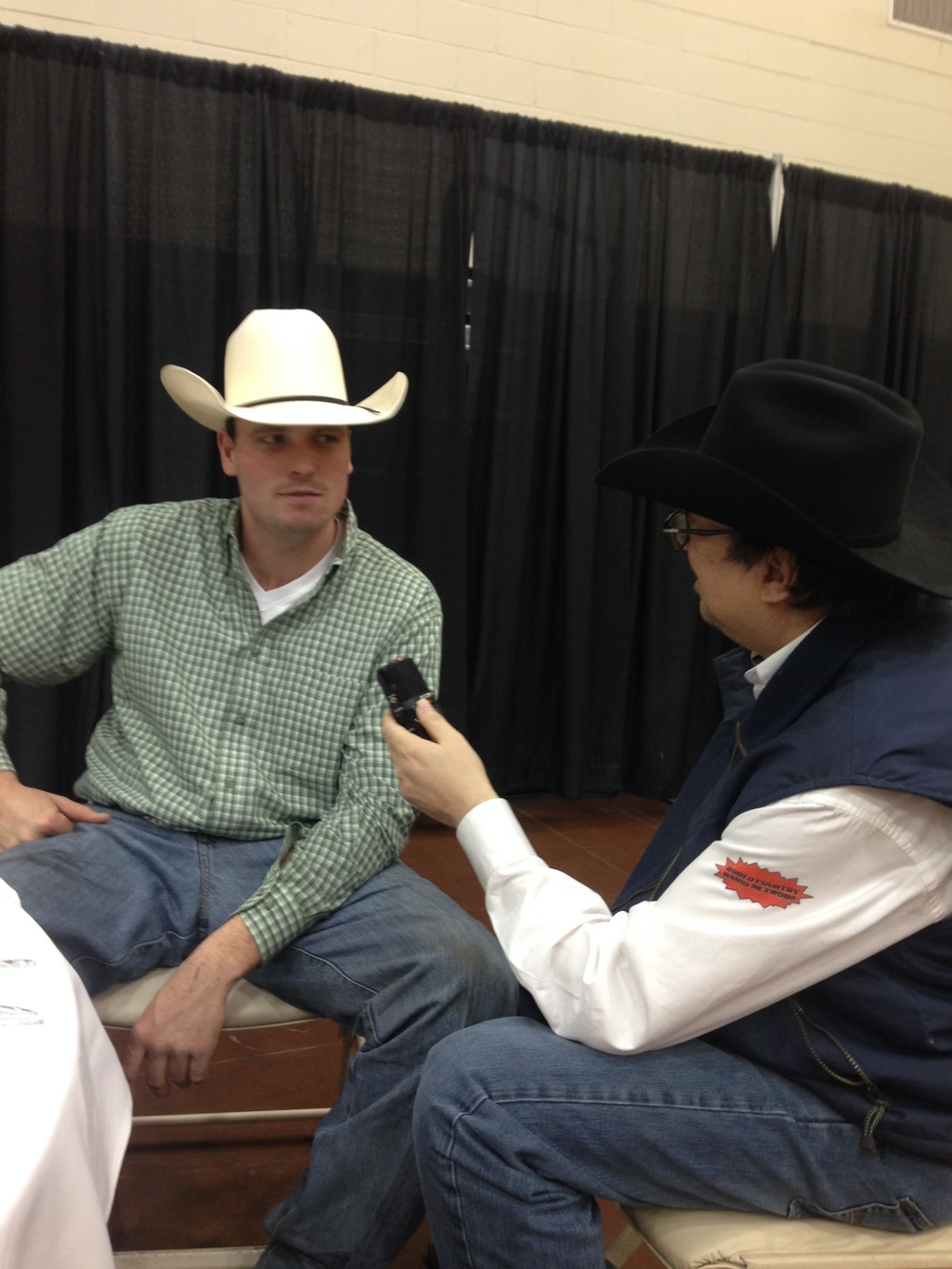 Rodeo Country Radios Terry Middleditch interviews Cody Mousseau at IFR 45