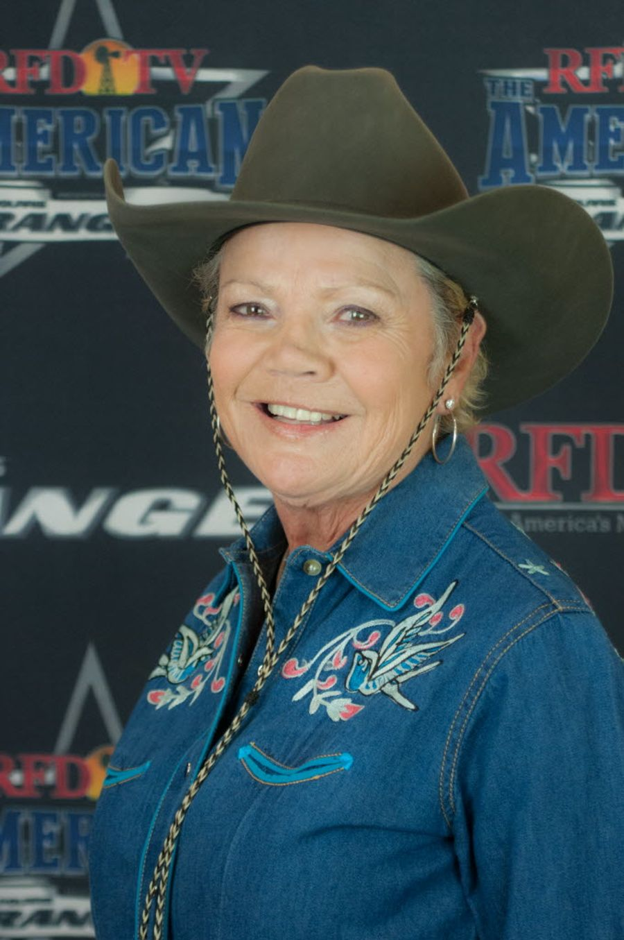 Mary Donna Smothers, 69, will compete against an elite field of barrel racers at Sunday's third RFD-TV The American rodeo with a chance at winning $1.1 million.  Photo by Lesil Groves