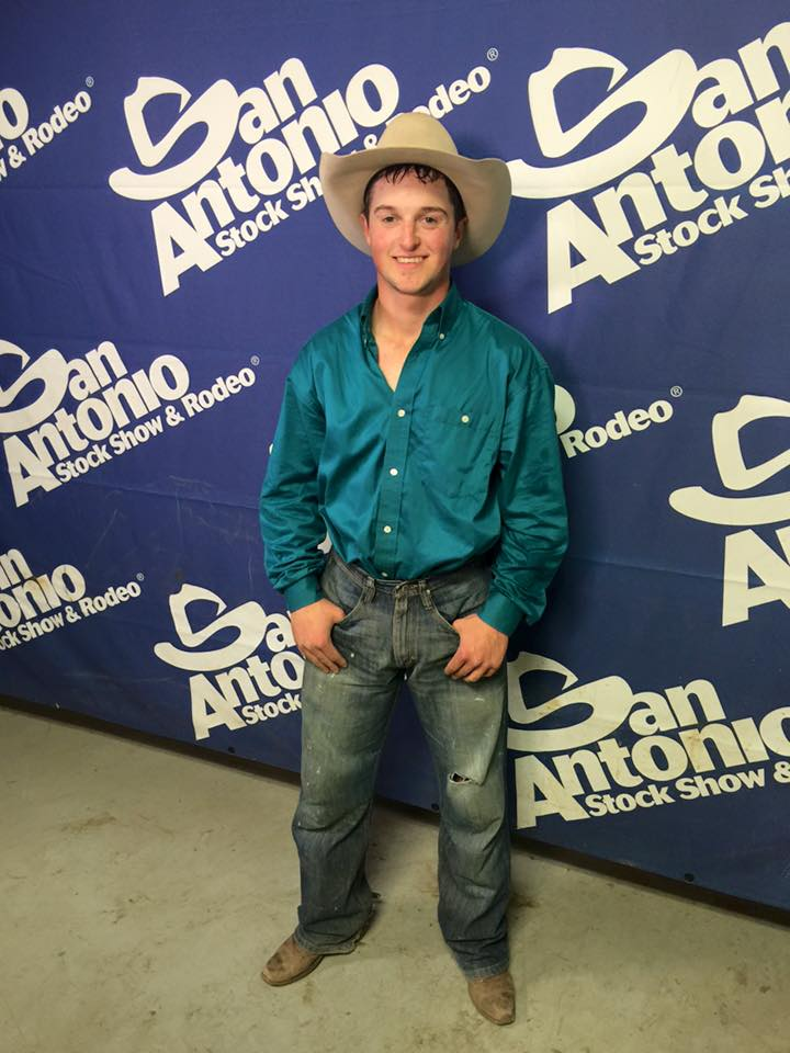 Jake Watson is the saddle bronc riding champion with earnings of $25,168.