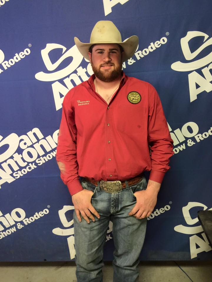 Jason Thomas is the San Antonio steer wrestling champion with a total of $24,713.