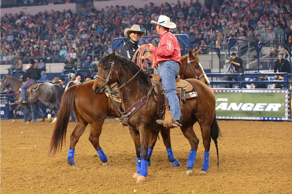 Clay O'Brien Cooper & Derrick Begay  win $100,000.
