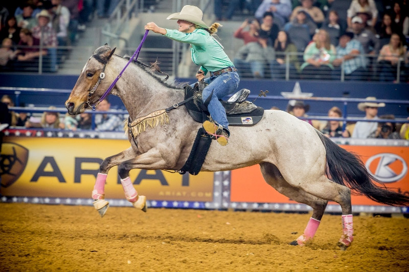 Sarah Rose McDonald rode Bling to victory. Photography: Mallory Beinborn