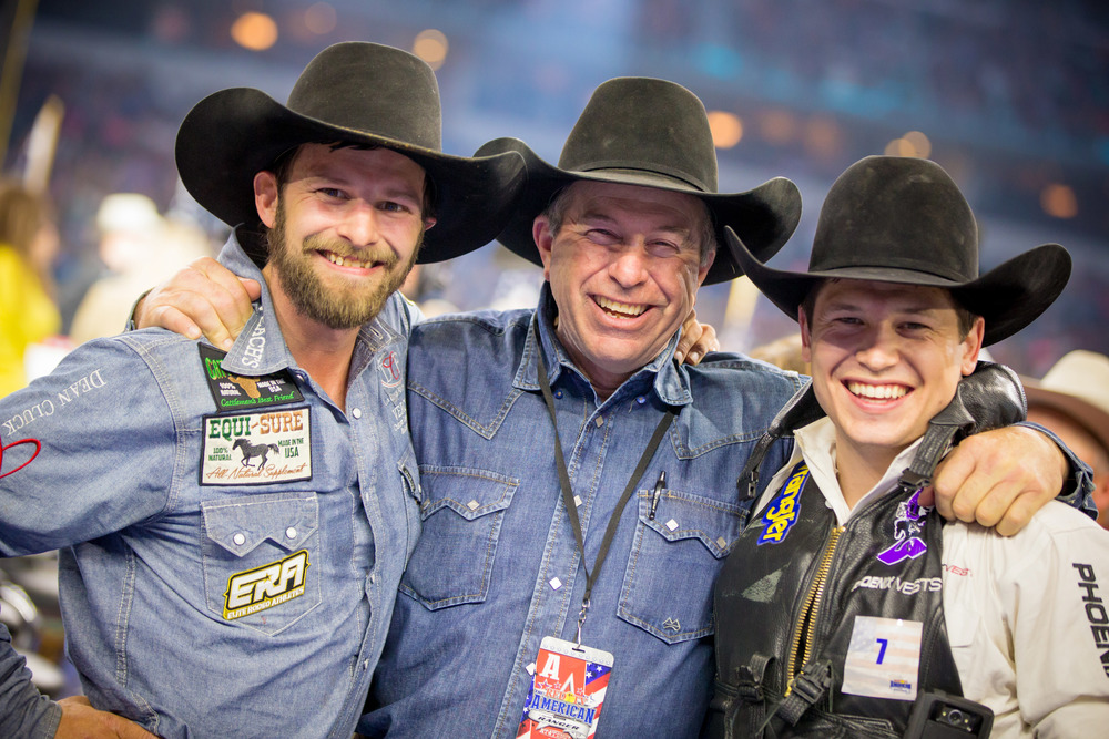 Left to right: Iowans Wade Sundell and Dave Morehead and Minnesotan Tanner Aus. Photography: Mallory Beinborn