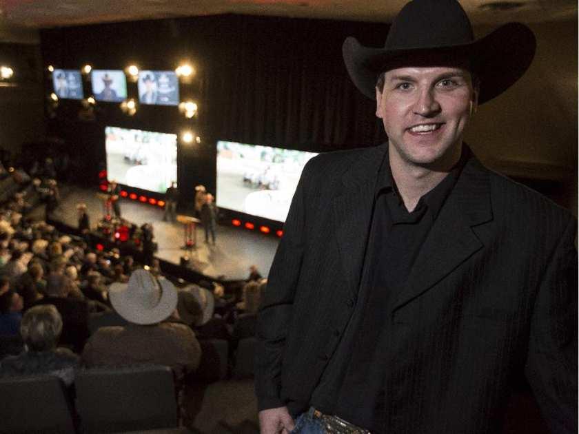 Kurt Bensmiller 2015 Calgary Stampede GMC Rangeland Derby Champion