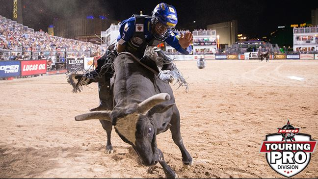 Wicked's last out was in Round 3 of Last Cowboy Standing in Las Vegas against Kaique Pacheco. Photo: Matt Breneman/BullStockMedia.com