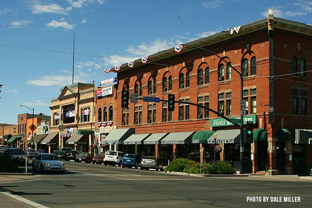 Downtown Prescott and the World's Oldest Rodeo were featured in the 1972 movie Junior Bonner, which starred Steve McQueen.