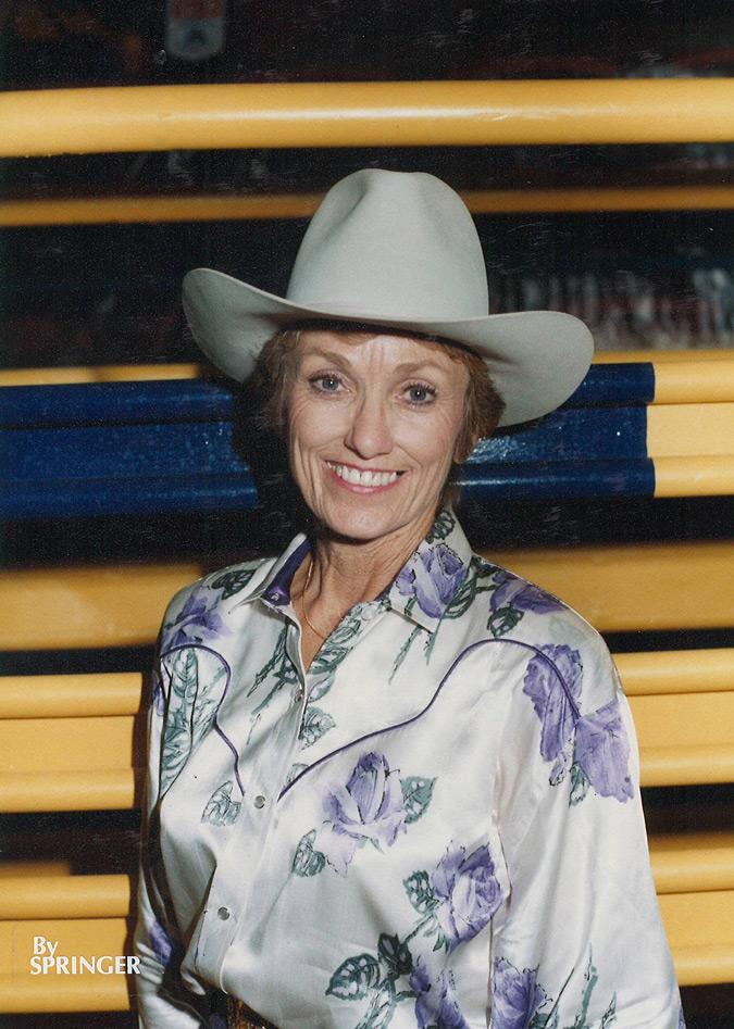 Rose Johnson Webb. Photo via Springer/WPRA