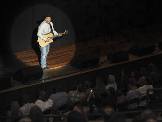Garth Brooks performs at the Ryman Auditorium Thursday Sept. 8, 2016, in Nashville, Tenn. (Photo: George Walker IV / The Tennessean)