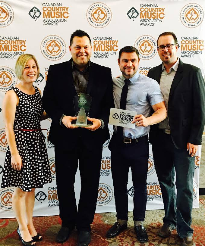 Ah this team! We are so excited to have received the 2016 CCMA Booking Agency of The Year award. Thank you so much to everyone that voted for us, our killer team, our great partnerships and our amazingly talented Artists! We truly love what we do!#ccmaawards2016#teaminvictus