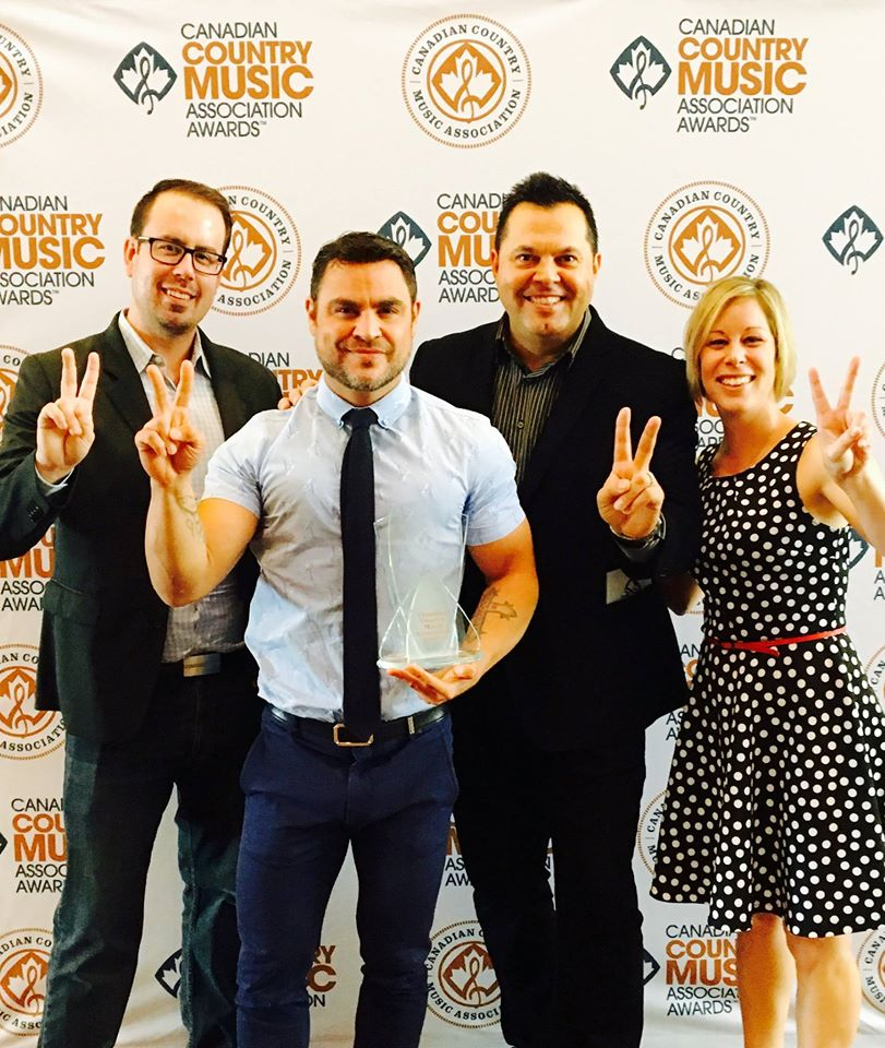 2016 CCMA Management Company of the year!!! Speechless!